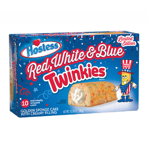 Hostess Red White & Blue Twinkies 10-Pack 13.58oz (385g) (US)